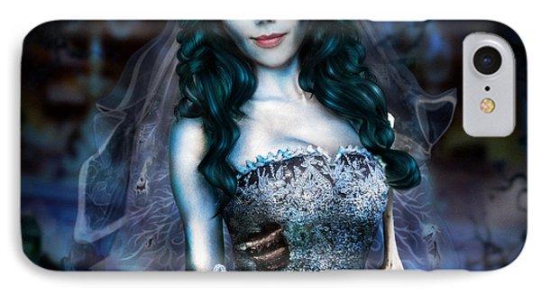 Corpse Bride IPhone 7 Case by Alessandro Della Pietra