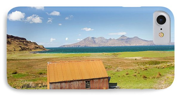 Corrugated Iron Barn At Cleadale IPhone Case by Ashley Cooper