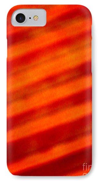 Corrugated Orange IPhone Case