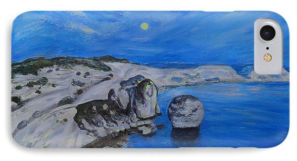 Corsica Bonifaccio Evening Phone Case by Agnieszka Praxmayer