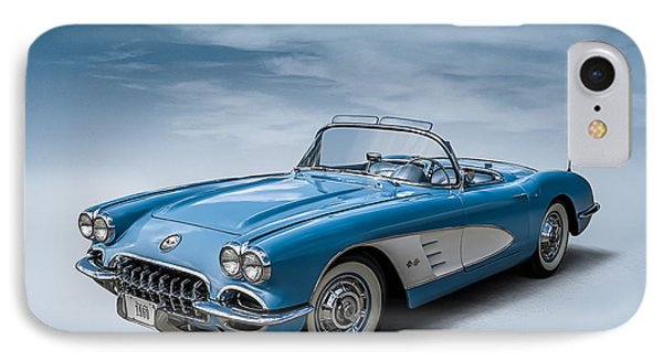 Corvette Blues IPhone Case by Douglas Pittman