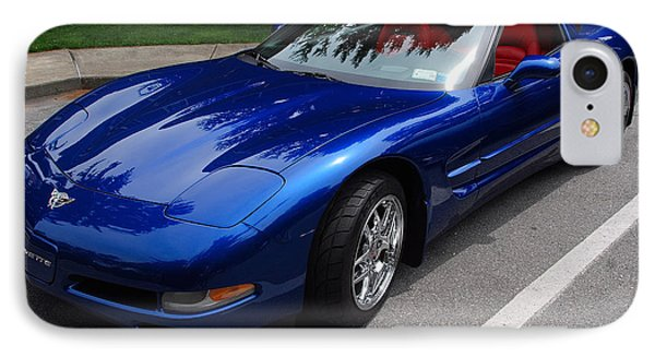 Corvette By Chevrolet At Fifty IPhone Case
