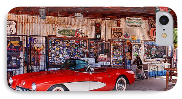 Corvette Drive Rt 66 IPhone Case