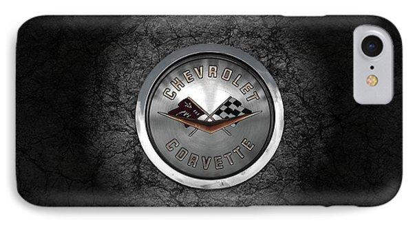Corvette Emblem IPhone Case