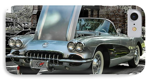 IPhone Case featuring the photograph Corvette by Victor Montgomery