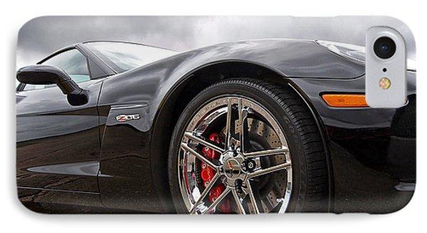 Corvette Z06 IPhone Case by Gill Billington