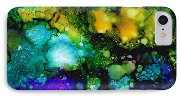 Cosmic Birth IPhone Case by Angela Treat Lyon