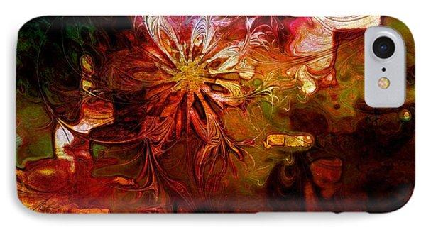 Cosmic Bloom Phone Case by Amanda Moore