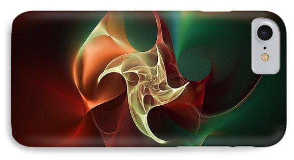 Cosmic Bloom Phone Case by Elizabeth McTaggart