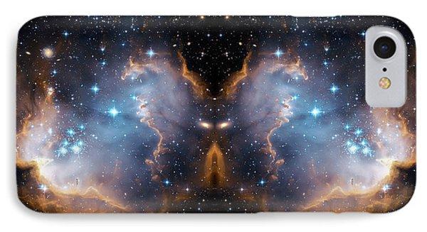 Cosmic Butterfly Phone Case by Jennifer Rondinelli Reilly - Fine Art Photography