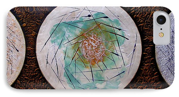 Cosmic Carrilon Chime IPhone Case by Carolyn Goodridge