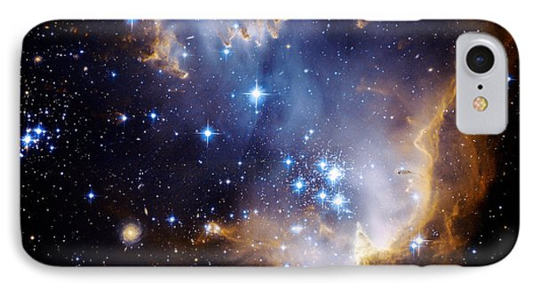 Cosmic Cloud  Ngc602 IPhone Case by Celestial Images