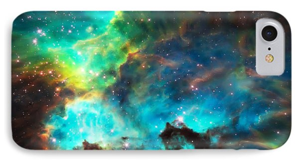 Cosmic Cradle 1 Star Cluster Ngc 2074 IPhone Case by Jennifer Rondinelli Reilly - Fine Art Photography