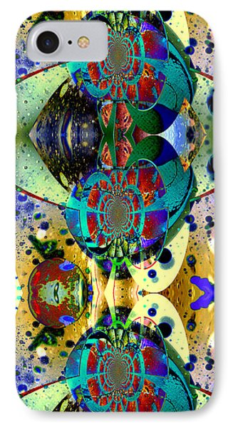 Cosmic Cuckoo Clock IPhone Case by Robert Kernodle