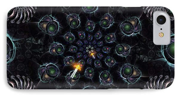 Cosmic Embryos Phone Case by Shawn Dall