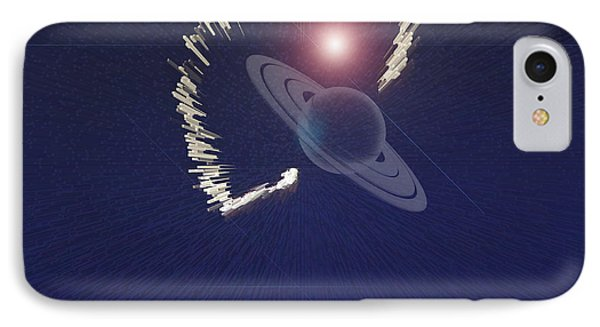 Cosmic Event Phone Case by Augusta Stylianou