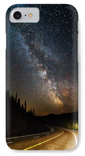 Cosmic Highway IPhone Case