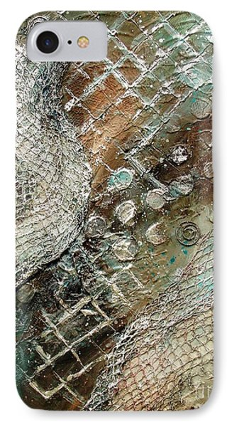 Silvered Salmon IPhone Case by Phyllis Howard