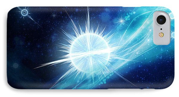 Cosmic Icestream IPhone Case by Shawn Dall
