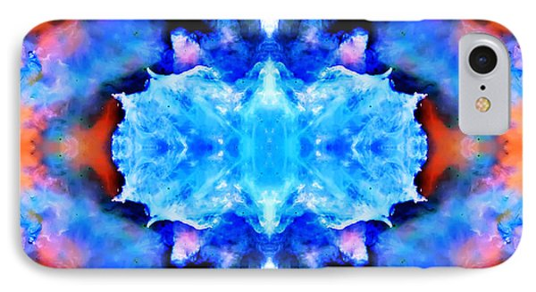 Cosmic Kaleidoscope 1 Phone Case by Jennifer Rondinelli Reilly - Fine Art Photography