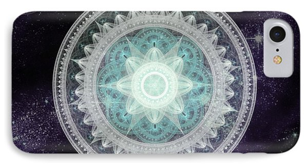 Cosmic Medallions Water IPhone Case by Shawn Dall