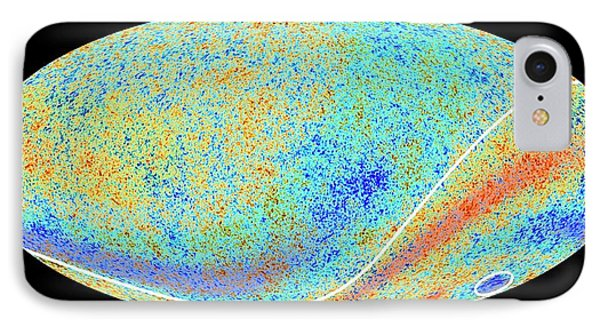 Cosmic Microwave Background Anomalies IPhone Case by Esa Planck Collaboration