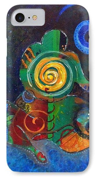 Cosmic Presence Phone Case by Indigo Carlton