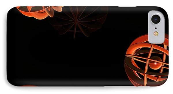 Cosmic Pumpkins By Jammer Phone Case by First Star Art