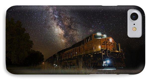 Cosmic Railroad IPhone Case by Aaron J Groen
