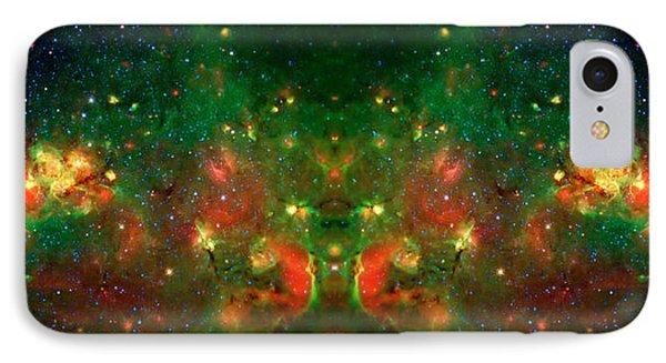 Cosmic Reflection 1 Phone Case by Jennifer Rondinelli Reilly - Fine Art Photography