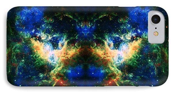 Cosmic Reflection 2 Phone Case by Jennifer Rondinelli Reilly - Fine Art Photography