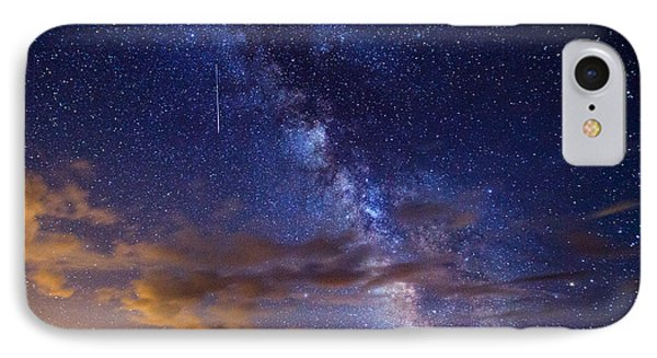 Cosmic Traveler  IPhone Case by Darren  White