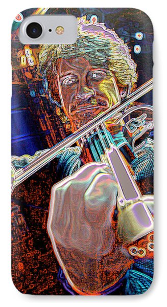 IPhone Case featuring the photograph Cosmic Violin by Don Olea