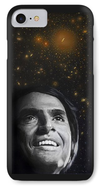 Cosmos- Carl Sagan IPhone Case