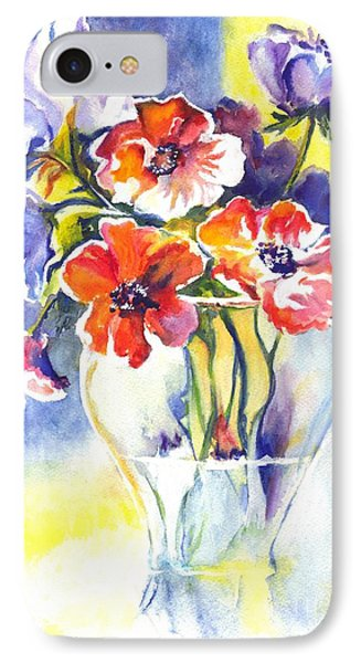 Cosmos I IPhone Case by Carol Wisniewski