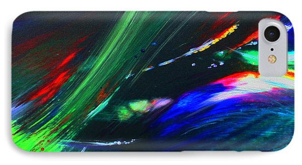 IPhone Case featuring the painting Cosmos by Jeanette French