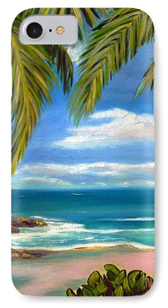 Costa Rica Rocks   Costa Rica Seascape  IPhone Case by Shelia Kempf