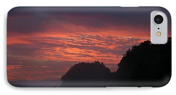 Costa Rica Sunset IPhone Case by Michelle Wiarda