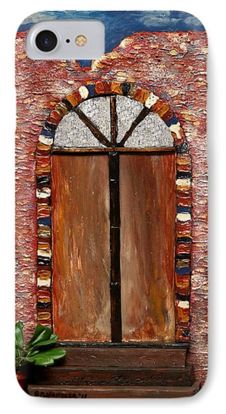 Costa Rican Doorway IPhone Case