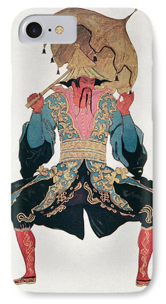 Costume Design For A Chinaman IPhone Case by Leon Bakst