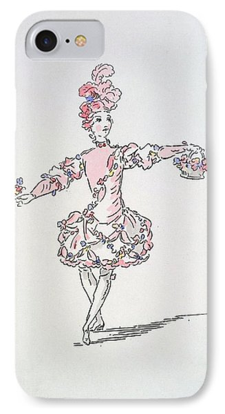Costume Design For A Young Egyptian Dressed As Spring IPhone Case