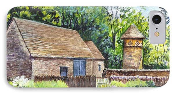 Cotswold Barn Phone Case by Carol Wisniewski