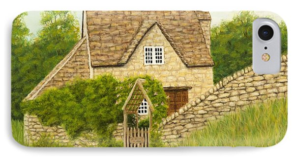 Cotswold Cottage Phone Case by Rebecca Prough