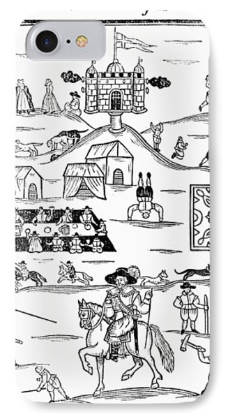Cotswold Games, 1636 IPhone Case by Granger