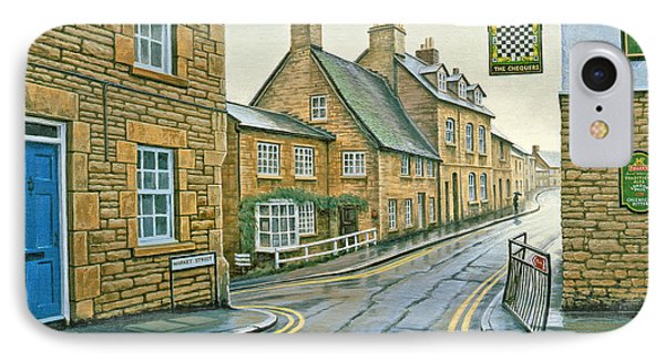 Cotswold Village-rainy Day IPhone Case