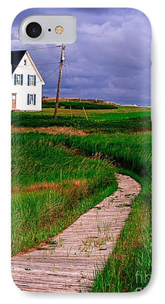 Cottage Among The Dunes Phone Case by Edward Fielding