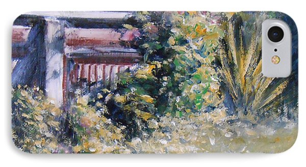 Cottage Garden IPhone Case by Jane  See