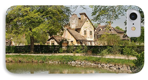 Cottage In The Hameau De La Reine IPhone Case by Jennifer Ancker