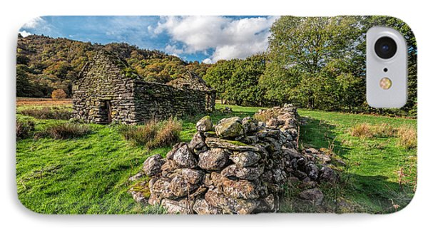 Cottage Ruin IPhone Case by Adrian Evans
