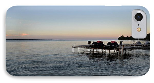IPhone Case featuring the photograph Cottage Sunset 2  by Lyle Crump